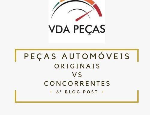 Peças automóveis originais vs Peças automóveis concorrentes
