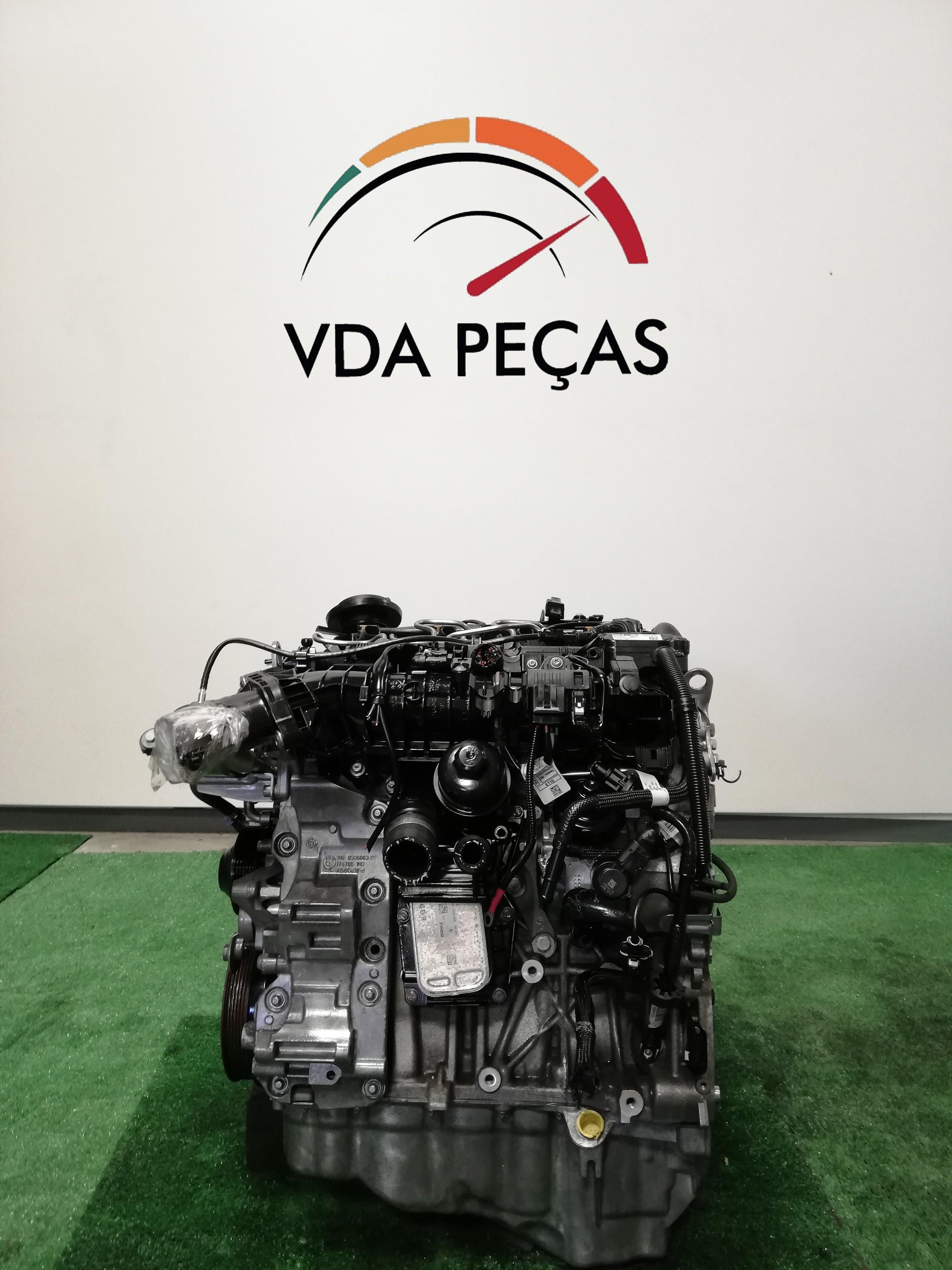 Bmw 116d motor usado
